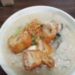 【高雄 朝ごはん】美味しいサバヒー雑炊「古早味鹹粥」!台湾高雄グルメ