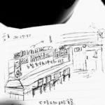 あの年、東京・南青山の大坊珈琲店にて