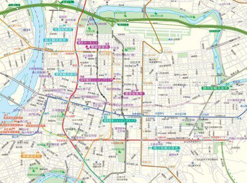 台北夜市ガイドマップ