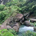 【新竹 観光】尖石郷の蛙形石スカイ歩道、山登りしなくても滝を眺めることができます