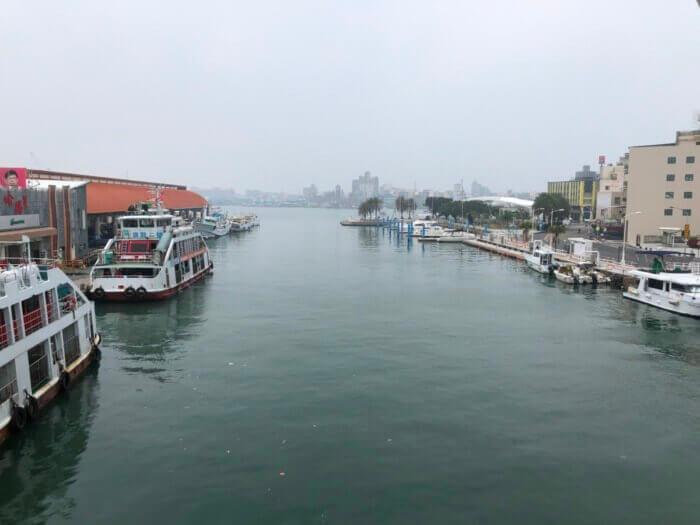 哈瑪星一番船運河景觀橋
