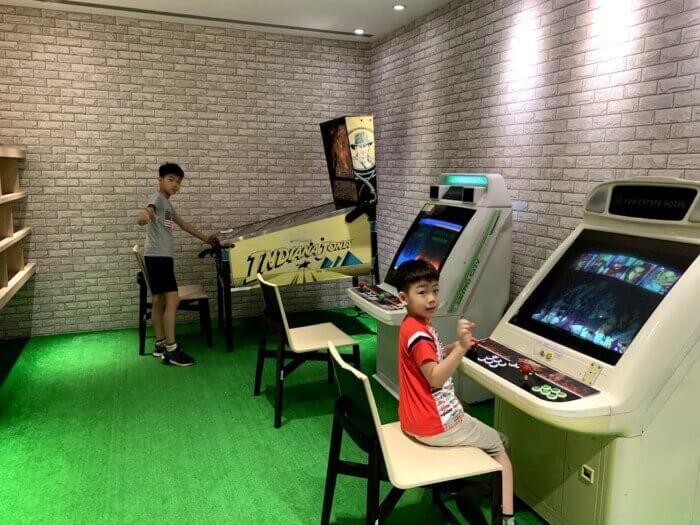 淡水 藴泉庄(YUN Estate Hotel) ゲームルーム