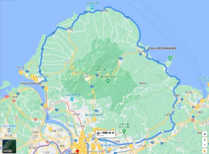 台湾北部一周