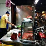 淡水B級グルメ ~ 沙茶醬(サーチャジャン)を使った羊肉の炒め物【沙茶羊肉】